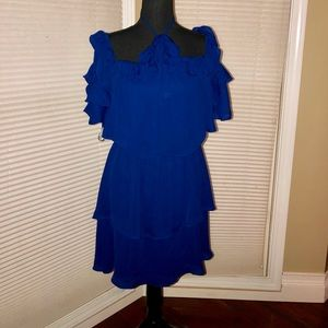 Parker Layered Dress With Tie in the Neck NWT